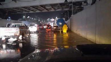 صورة أمطار غزيرة وصواعق رعدية تضرب الإسكندرية.. والمحافظ يرفع حالة الطواريء