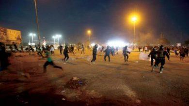 صورة اغتيال ناشط في الحراك ومقتل متظاهر بالرصاص في البصرة