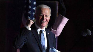 صورة بايدن: لي الشرف في أن اختارني الأمريكيون لقيادة البلاد