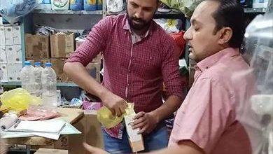 صورة تحرير 42 محضرً وإعدام 240 كيلو من الأغذية التالفة بمدينة الطور