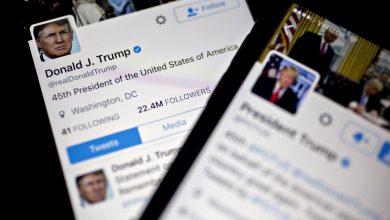 صورة تويتر يحذر من 4 تغريدات لترامب بشأن فرز الأصوات