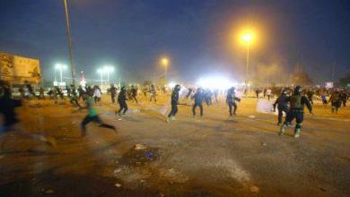 صورة جنبش اعتراضی در عراق؛ یک فعال مدنی کشته و یک سرتیپ بازنشسته ترور شد