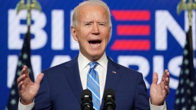 صورة جو بايدن يفوز بانتخابات الرئاسة الأمريكية