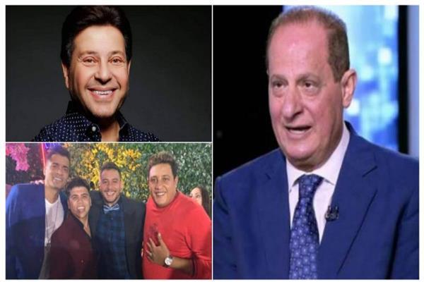 هاني مهنا وهاني شاكر ومطربي المهرجانات في الحفل
