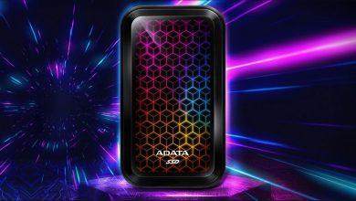 صورة شركة ADATA تعلن عن وحدة SE770G SSD المحمولة بإضاءات الـ RGB!