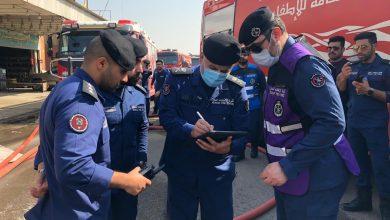 فرق قوة الإطفاء سيطرت على حريق منجرة في «صناعية الفحيحيل»