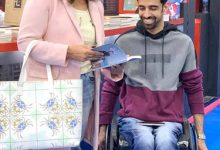 صورة مشاركة عدد من أبناء ذوي الإعاقة في معرض الكتاب