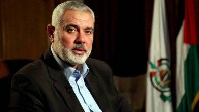 """صورة هنية: """"ندعو إخواننا لعدم العودة إلى فخ المفاوضات"""""""