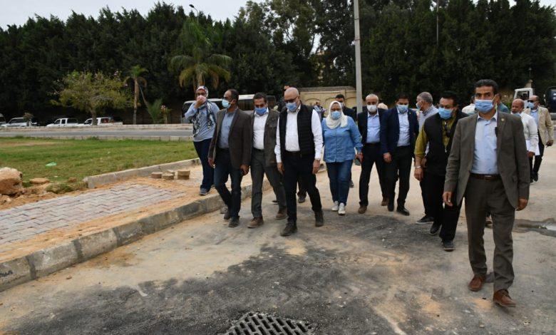 وزير الإسكان يتابع إجراءات مواجهة الأمطار والسيول بموسم الشتاء بمدينة القاهرة الجديدة