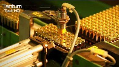 صورة Incrível Processo de fabricação de balas, munições e projéteis – Máquinas e Tecnologia Moderna