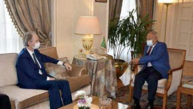 صورة Pedersen Informed in Cairo of Arab Interest in Expanding Scope of Syria Settlement