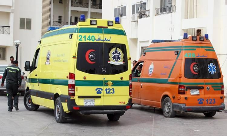 إصابة 3 أشخاص بحالة اختناق نتيجة استنشاق غاز بالبحيرة