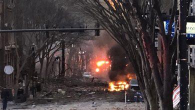 الشرطة الأميركية: الانفجار القوي في مدينة ناشفيل «فعل متعمد»