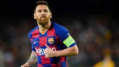 صورة لابورتا يعلن أن ميسي يرغب في الاستمرار مع برشلونة