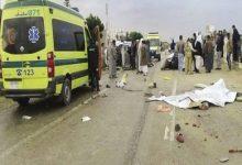 صورة مصرع شاب وإصابة 2 آخرين في حادث تصادم بالشرقية