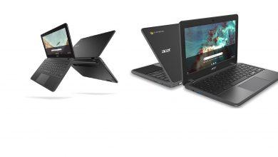 صورة أجهزة Acer الجديدة من فئة الـ Chromebook تشق طريقها قريباً للأسواق!