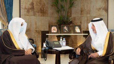 صورة أمير مكة يبحث مع وزير العدل رفع التنسيق بين الإمارة والمحاكم وتسريع تنفيذ الأحكام – أخبار السعودية