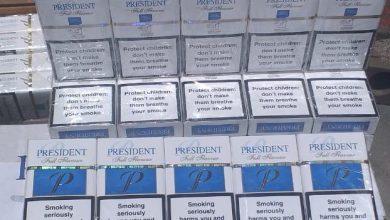 صورة إحباط محاولة تهريب 34 ألف علبة سجائر أجنبية الصنع بميناء الإسكندرية