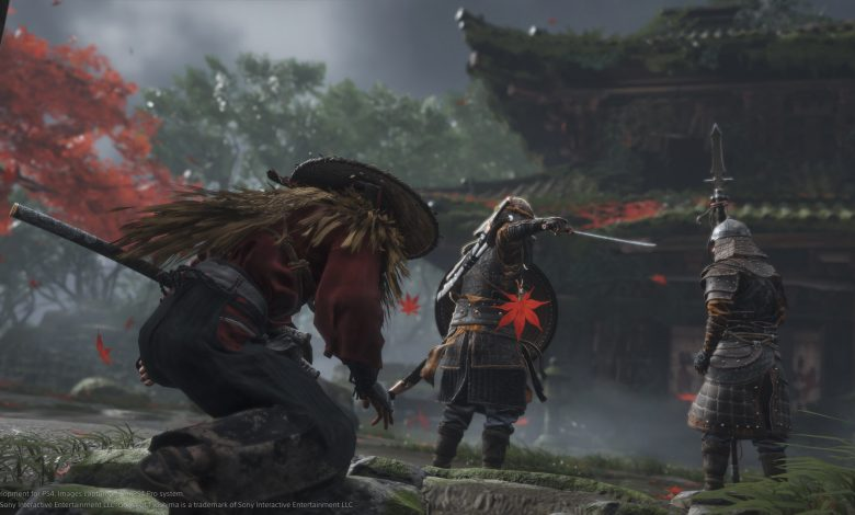 ghost of tsushima PS5 the game awards 2019