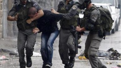 صورة الاحتلال يعتقل فلسطينيين غرب رام الله