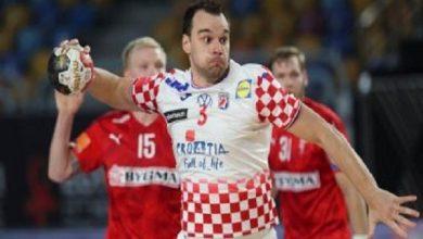 صورة الدنمارك تهزم كرواتيا 38-26 في المجموعة الرابعة في الدور الرئيسي
