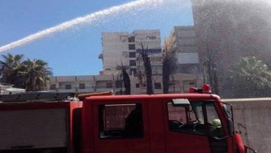 صورة السيطرة على حريق بقنا جراء انفجار ماسورة غاز دون وقوع إصابات