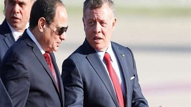 صورة المتحدث الرئاسي: السيسي يبحث مع ملك الأردن سيبحثان مختلف القضايا العربية والإقليمية