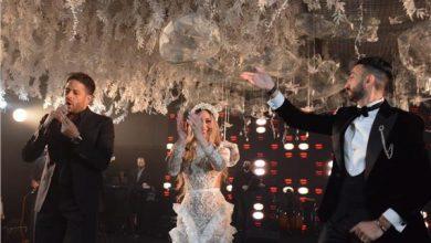 صورة بالصور.. حماقي يتألق فى حفل زفاف نادر حمدي