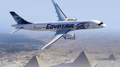 صورة غدا.. مصر للطيران تسيّر 44 رحلة لنقل 5001 راكب