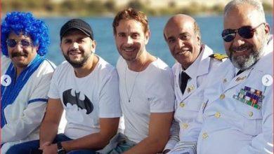 صورة بيومي فؤاد قبطان بحري في «تماسيح النيل»