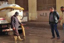 صورة تحسن ملحوظ في الأحوال الجوية واستمرار رفع مياه الأمطار بـ كفر الشيخ.. صور