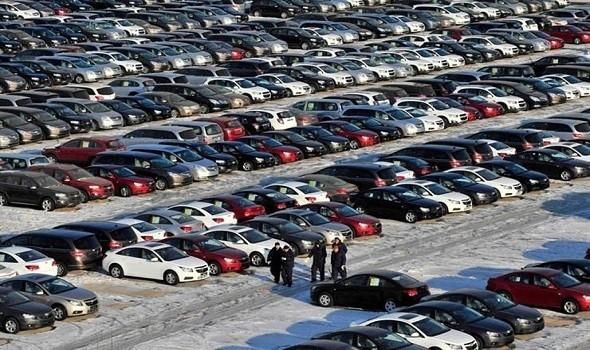 تراجع سوق السيارات إلى مؤشر عام 1975