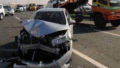 صورة مقتل شخصين وإصابة آخرين في حادث تصادم في عيون موسى