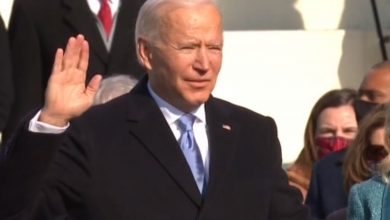 صورة تنصيب الرئيس الأميركي الجديد جو بايدن