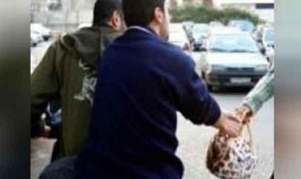 سحل محامية وسرقة حقيبتها في منطقة المعصرة في حلوان