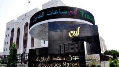 صورة مؤشر سوق مسقط يغلق التعاملات على ارتفاع