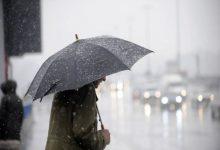صورة طقس الأحد… أمطار يحتمل أن تكون قوية مع تساقط البرد وأجواء باردة عموما