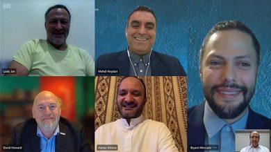 صورة مجلس الأعمال الأمريكي السعودي يختتم بعثته الأولى لتطوير الأعمال الافتراضية إلى المملكة