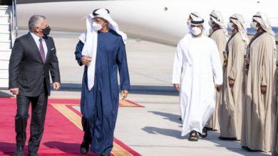 صورة محمد بن زايد وعبد الله الثاني يبحثان العلاقات الثنائية والأوضاع الإقليمية والدولية