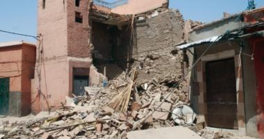 صورة مصرع وإصابة شخصين جراء انهيار منزل في أسيوط