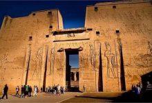صورة معالم تاريخية   تعرف على كنوز معبد إدفو «معبد حورس» بأسوان