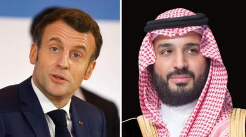 ولیعهد سعودی و رئیسجمهور فرانسه مسائل منطقهای را بررسی کردند