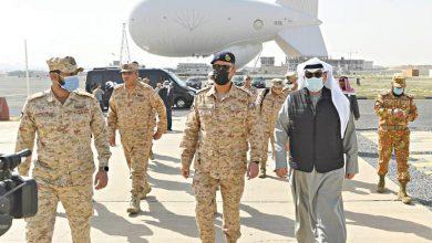 الشيخ حمد الجابر: تعزيز قدرات قواتنا المسلحة لأداء واجبها المقدس