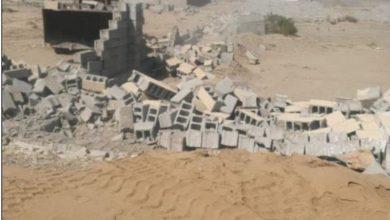 صورة بلدية جنوب جدة تزيل 23 ألف متر مربع من الأسوار المخالفة