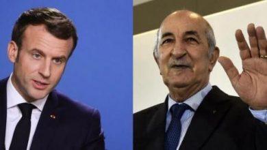 """صورة Cezayir ve Fransa liderleri """"hafıza"""" dosyası üzerinde çalışmaya hazır olduklarını belirtti"""
