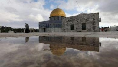 صورة Palestinian Foreign Ministry Denounces Targeting of Al-Aqsa Mosque