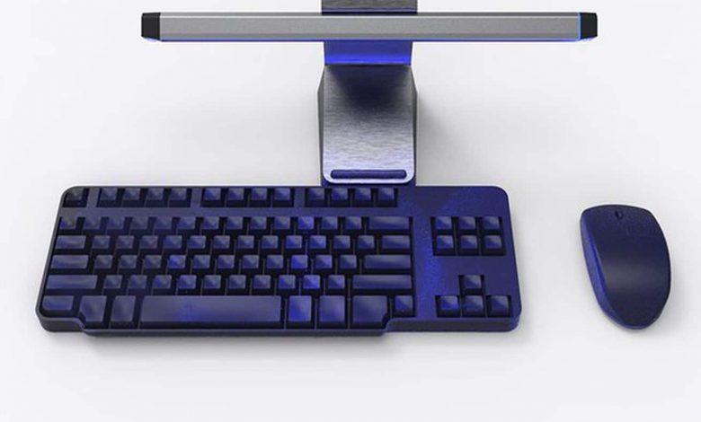 Targus لديها مصباح مضاد للميكروبات للوحة المفاتيح