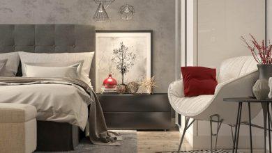 صورة أفكار ديكورات غرف النوم على الطراز الأوروبي
