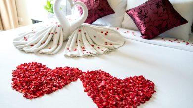 صورة أفكار لتزيين غرفة النوم في يوم الحب