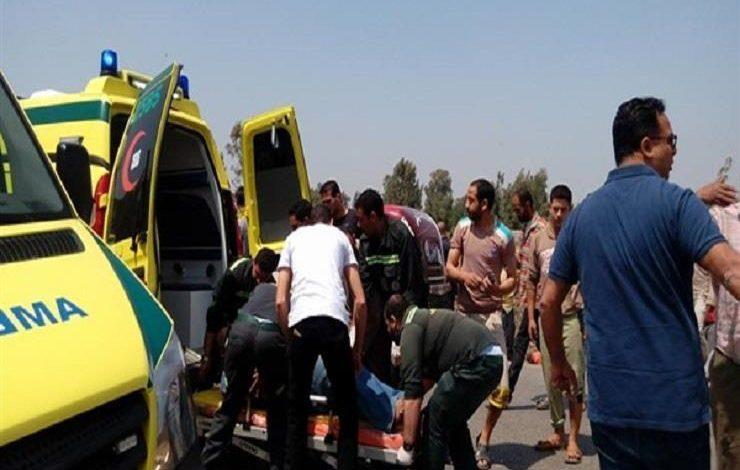 إصابة طالبين جراء حادث تصادم في الدقهلية